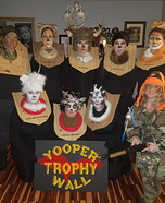 Yooper Trophy Wall Homemade Costume
