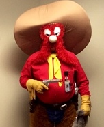 Yosemite Sam Homemade Costume