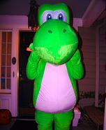 Yoshi Homemade Costume