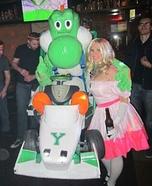 Yoshi Mario Kart Homemade Costume