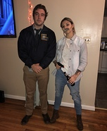 Young and old Rust Cohle from True Detective Homemade Costume