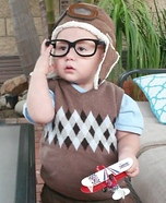 Young Carl from Up Homemade Costume
