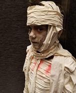 Young Mummy Homemade Costume