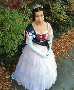 Young Queen Victoria Homemade Costume