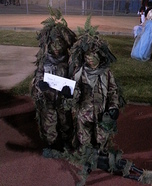 Young Sniper Team Homemade Costume