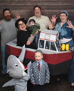 You're gonna need a bigger boat Homemade Costume