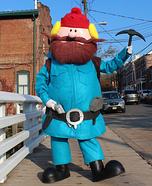 Yukon Cornelius Homemade Costume