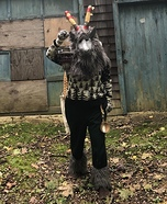 Yule Goat Homemade Costume