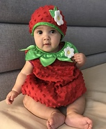 Yummy Strawberry Baby Costume