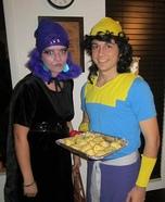 Yzma and Kronk Couple Costume
