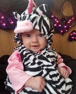 Zebra-licious Costume