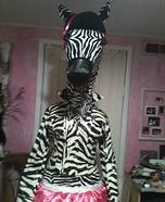 Disco Zebra Costume