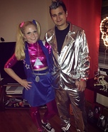 Zenon Girl and Prota Zoa Homemade Costume