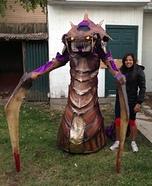 Zerg Hydralisk Homemade Costume