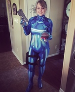 Zero Suit Samus Homemade Costume