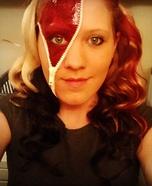 Zipper Face Homemade Costume
