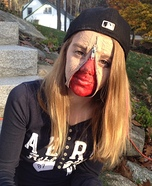 Zipper Face Homemade Costume