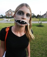 Zipper Mouth Homemade Costume