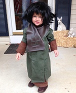 Zira from Planet of the Apes Homemade Costume