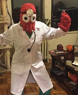 Zoidberg Homemade Costume