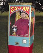 Zoltar Fortune Telling Machine Homemade Costume