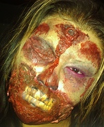 Scary Halloween costume ideas - Zombie Costume