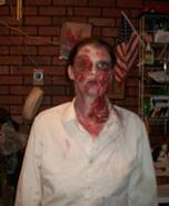 Homemade Zombie Adult Costume