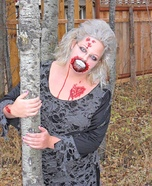 Homemade Zombie Costume for Women