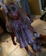 Girl's Zombie Baby Costume