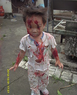 Zombie Baby Halloween Costume DIY
