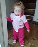Zombie Baby Girl Costume