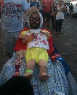 Zombie Baby Adult Homemade Costume