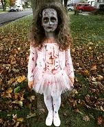 Zombie Ballerina Homemade Costume