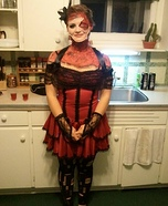 Zombie Bar Maid Homemade Costume