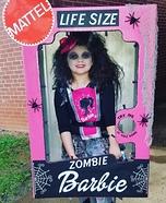 Zombie Barbie Homemade Costume