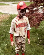 Zombie Baseball Player Homemade Costume