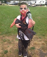 DIY Zombie Boy Costume