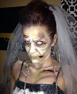 Women's Zombie Bride Costume
