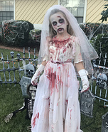 Zombie Bride Homemade Costume