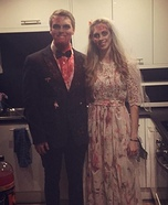 Zombie Bride and Groom Costume DIY