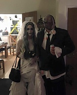 Zombie Bride and Groom Homemade Costume