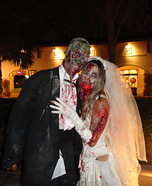 Zombie Bride and Groom Halloween Costume