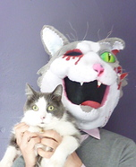 Zombie Cat Costume for Adults