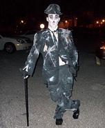 Zombie Charlie Chaplin Homemade Costume