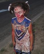 Zombie Cheerleader Homemade Costume