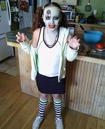 Zombie Cheerleader Girl Costume