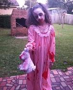 Zombie Child Homemade Costume