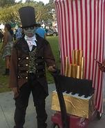 Zombie Circus Ringmaster Homemade Costume