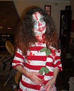 Homemade Zombie Clown Costume