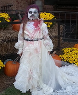 Zombie Corpse Bride Homemade Costume